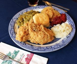 Blue Willow Inn Plate of Food